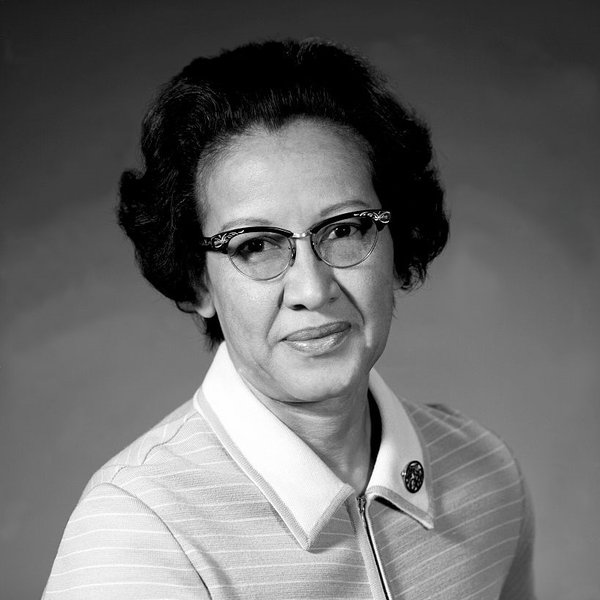 Katherine Johnson in 1955