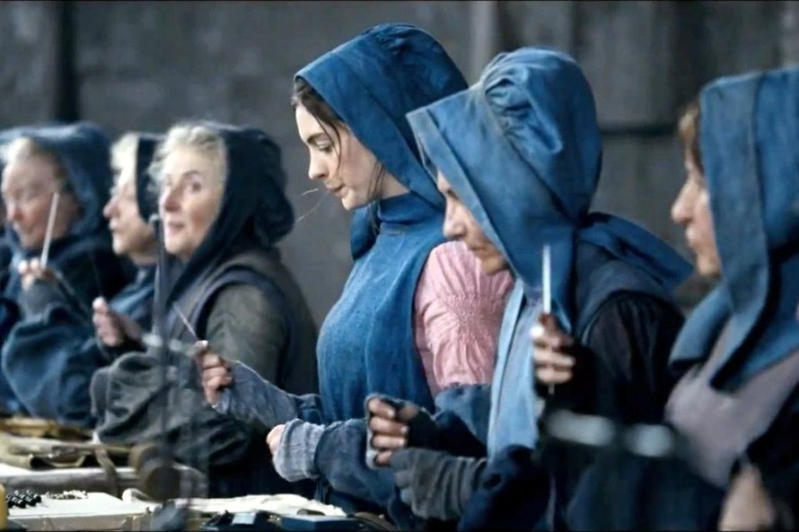 Anne Hathaway in Les Mis