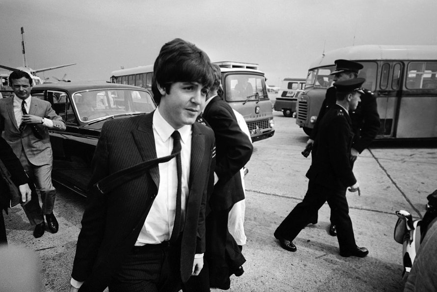 Macca, on the road sinds 1965
