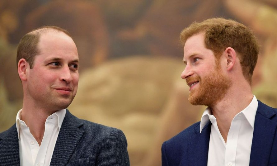 Prins William en prins Harry in betere tijden