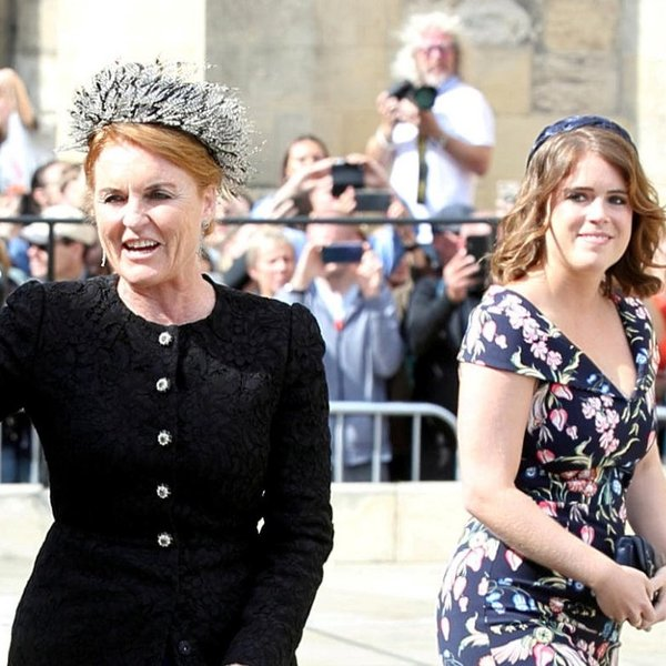 Sarah, hertogin van York en prinses Eugenie van York