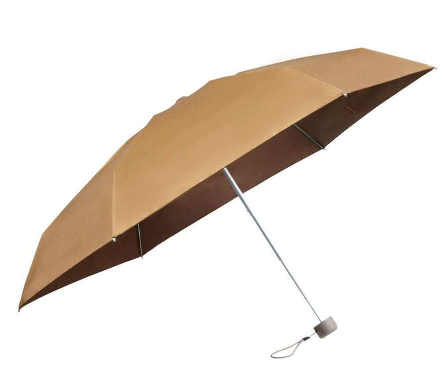 'Raindrops keep falling on my golden umbrella'