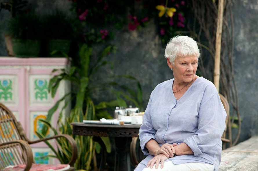Judi Dench in The Best Marigold Hotel (c) Alamy